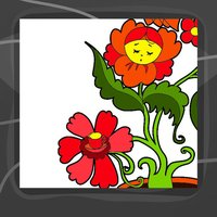 Flower Coloring Book App