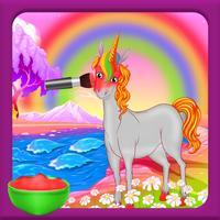 Unicorn Beauty Makeover Salon - Pet Game