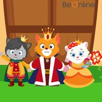 Four Princes and A Princess - An English Story for Kids