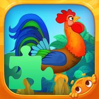 Farm Animals - Cute Puzzles