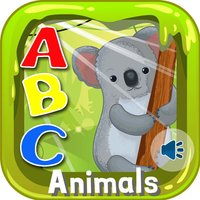 ABC Animals Flashcards Preschool English Learning