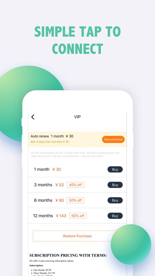 VPN - Super VPN Hotspot Master App for iPhone - Free