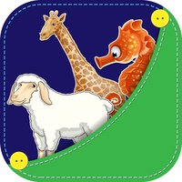 Animals for Kids and Toddlers : Flashcards, Games & Puzzles
