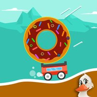 Endless Bouncy Car Road Adventure - Don't Drop the Donut!
