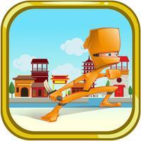 Ninja Warrior Runner - The World of Knight Jump Free Game