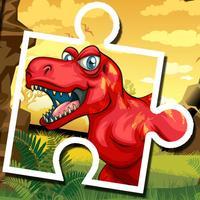 Dino Puzzle Jigsaw Games Free - Dinosaur Puzzles