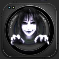 Ghost Camera Booth : Scary Face Stickers