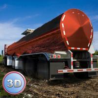 Oil Truck Simulator 3D Full - Offroad tank truck driving