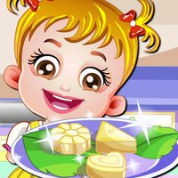 Baby Chef Shopping & Cook & Dessert - for Holiday & Kids Game