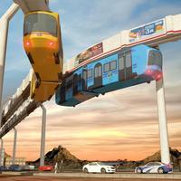 Elevated Train Simulator 3D