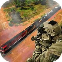 Train Attack War 3D