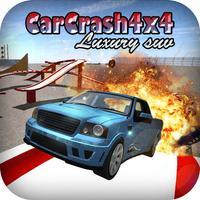 Car Crash Luxury SUV