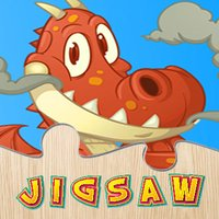 Dinosaur And Dragon Puzzle - Dino Jigsaw Puzzles For Kids Toddler and Preschool Learning Games