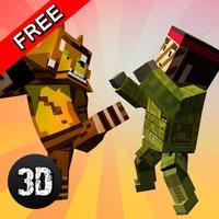 Cube Ninja Kung Fu Fighting Challenge 3D