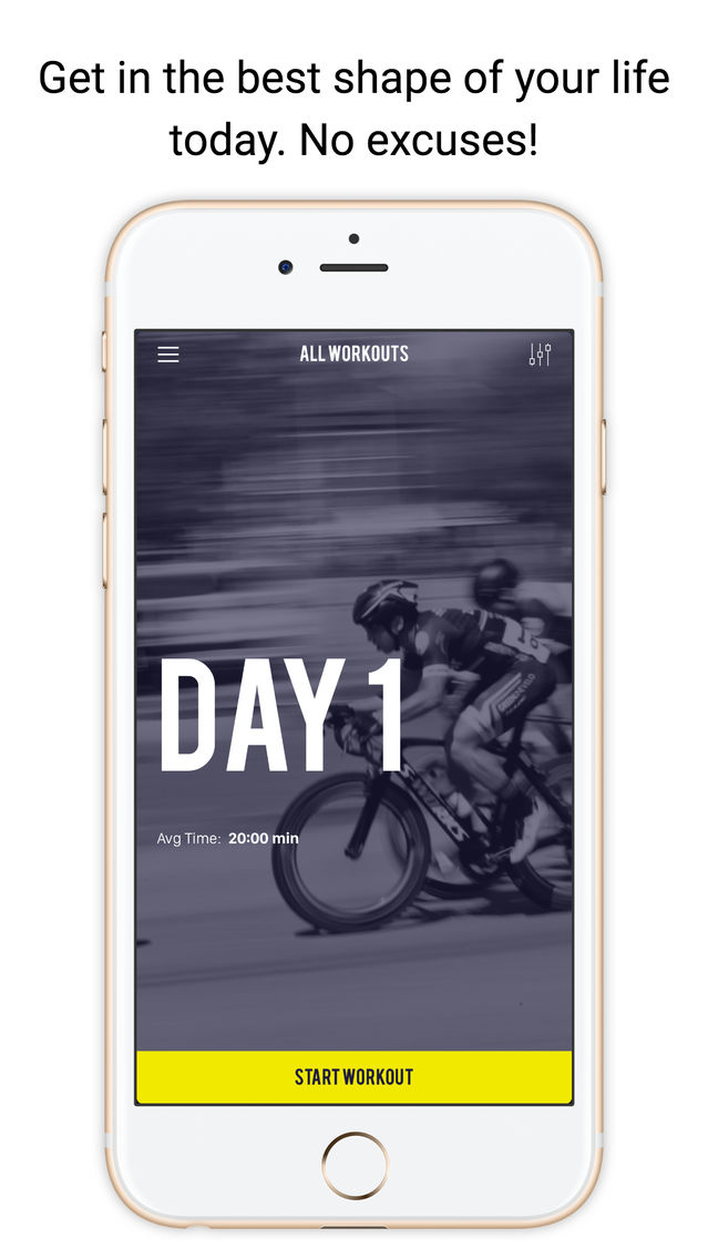 HIIT - 30 Days of Challenge App for iPhone - Free Download HIIT - 30