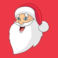 Christmas Stickers: Santa Claus and Friends