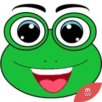 Grinie Frog Face stickers by ikakawaii