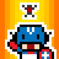 Captain VS Brave Ant - Gamebattles Of Two Invincible Cartoon Man
