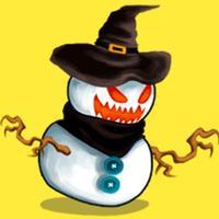 Monsters Halloween Stickers