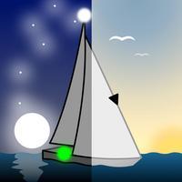 Vessel lights–cards COLREGs-72
