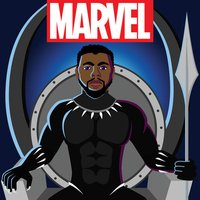 Marvel Stickers: Black Panther