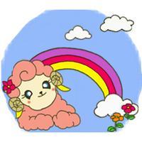 Adorable Baby Sheep Sticker