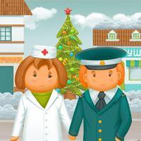 Интерактивная книга для детей «Кем быть»: стихи для самых маленьких, будильник и детский органайзер