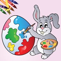 Easter Egg Kids Coloring Book!