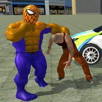 Superhero Game Monster Fatal Fight