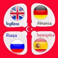 İngilizce Almanca Rusça İspanyolca Konuşma Rehberi