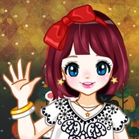 Pop Star Dress Up Kawaii Anime Girl Salon