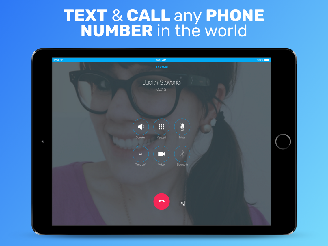 Text Me - Phone Call + Texting App for iPhone - Free