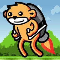 Jetpack Monkey Jumping Game