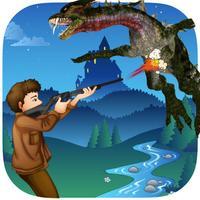 A Dragon Take Down Cool Adventure Hunter FREE - Extreme Survival Mania