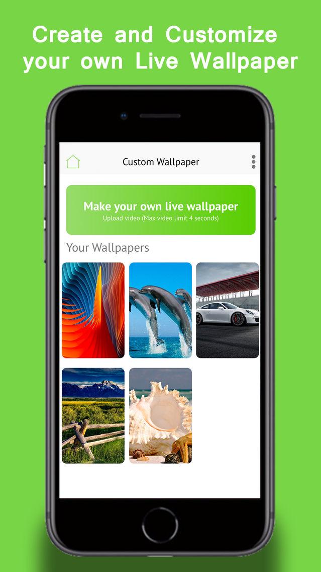 Make live wallpaper app
