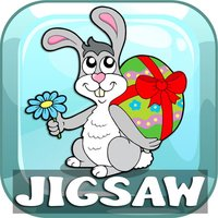 Happy Easter Jigsaw Puzzles HD Games Free For Kids