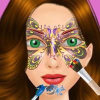 Party Girl Face Paint Salon - Superstar Girl