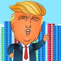 Wall Trump - Donald & Hillary Edition