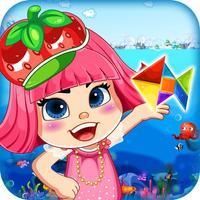 草莓甜心形状变变变-宝宝最爱智力拼图游戏