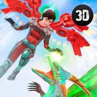 Flying Angel Fighting Sim 3D