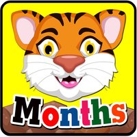 Learn English daily : Month : free learning Education games for kids!