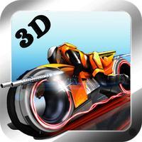 3D Highway Bat Racer : A Kids Super Hero Rider