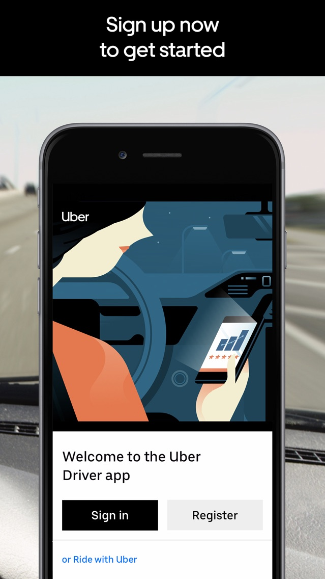 Uber Driver App for iPhone - Free Download Uber Driver for