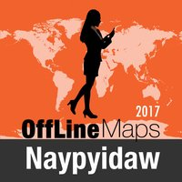 Naypyidaw Offline Map and Travel Trip Guide