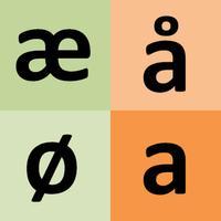 Norwegian alphabet for student