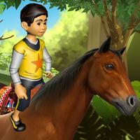Crazy Animal Rampage Simulator : Wild Horse Fury Ride