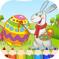 Easter Bunny Coloring Book - Painting Game for Kid