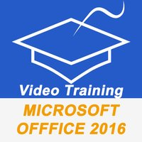 Video Training For Microsoft Office 2016 (MS Word, Excel, PowerPoint,Outlook & OneNote) PRO