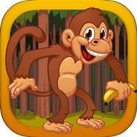 Monkey Madness: Falling Banana Quest