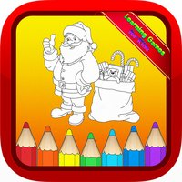Santa Claus Christmas Kids Coloring Books for Baby